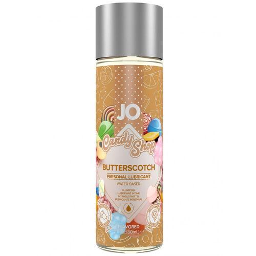 Lubrikační gel System JO H2O Karamel