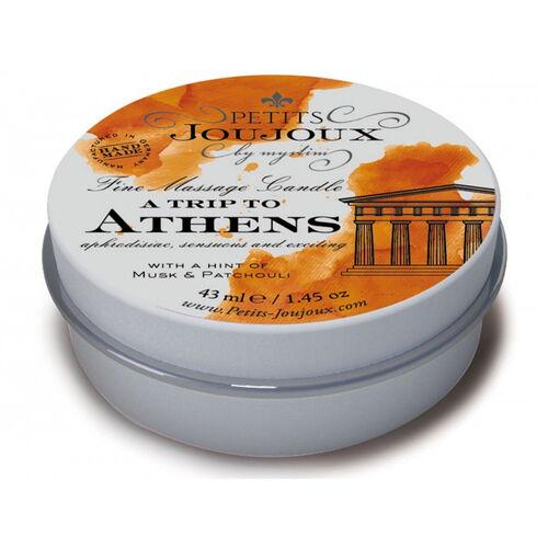 Masážní svíčka A Trip To Athens (43 ml)