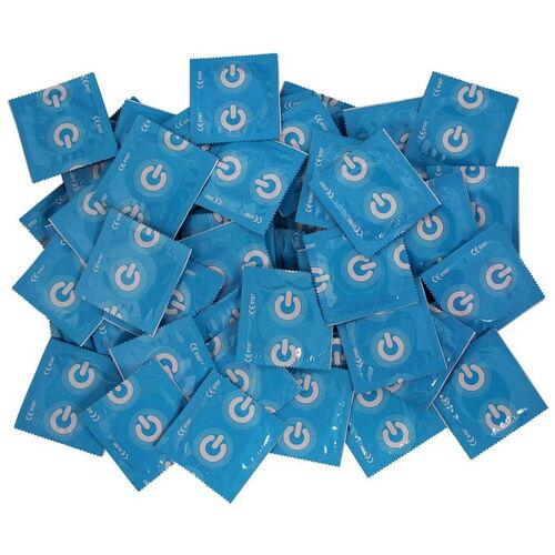 Suchý kondom ON) bez lubrikantu Clinic z přírodního latexu