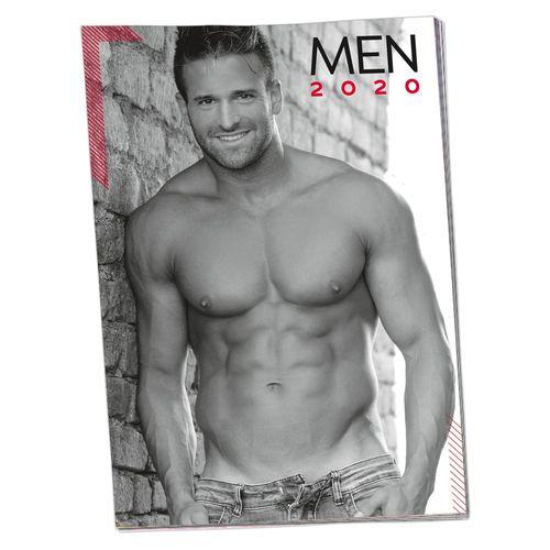 Erotický kalendář 2020 Svalnatých mužů