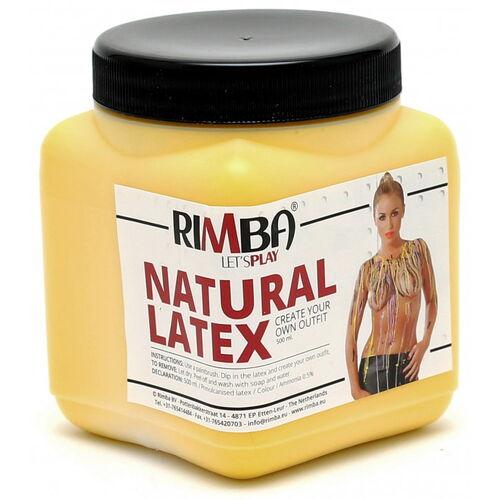 Tekutý latex Rimba - žlutý (500 ml)