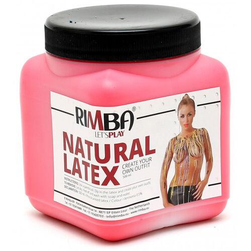 Tekutý latex Rimba - červený (500 ml)