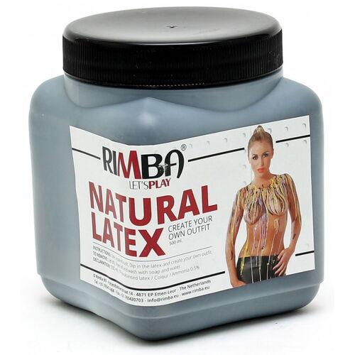 Tekutý latex Rimba - černý (500 ml)