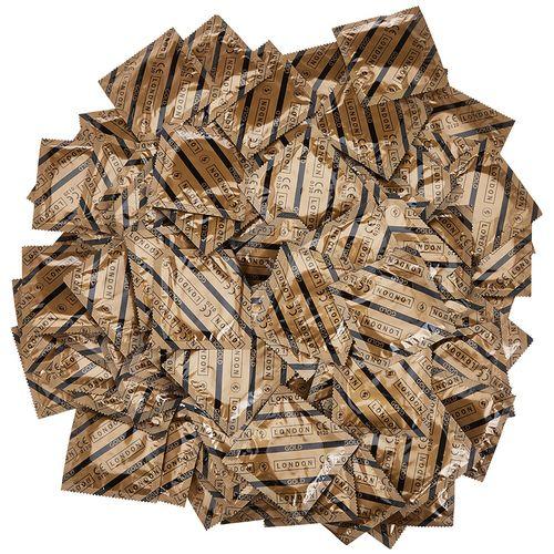 Balíček ztenčených kondomů Durex LONDON GOLD (100 ks)