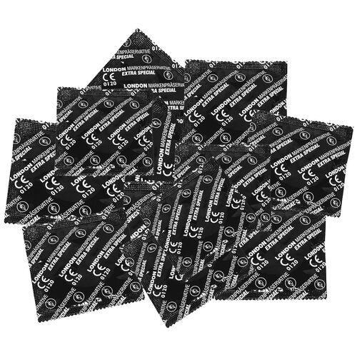 Balíček zesílených kondomů Durex LONDON EXTRA SPECIAL (100 ks)
