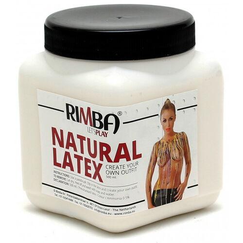 Tekutý průhledný latex Rimba (500 ml)