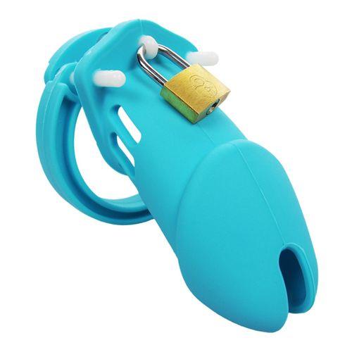 Silikonový pás cudnosti (klícka na penis)