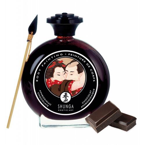 Slíbatelný bodypainting Aphrodisiac Chocolate (100 ml)