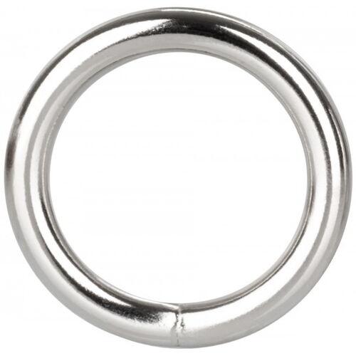 Stříbrný erekční kroužek z kovu