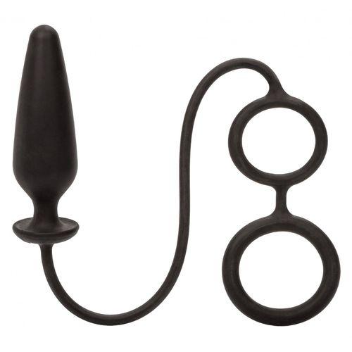 Anální kolík s kroužky na varlata a penis