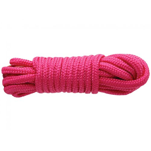 Růžové bondage lano SINFUL (7,6 m)