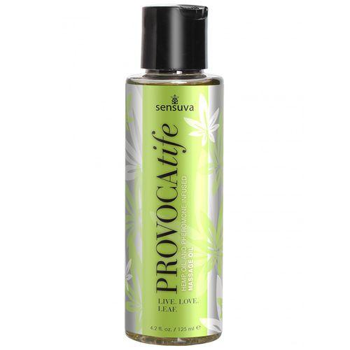 Masážní olej s konopím a feromony PROVOCAtife