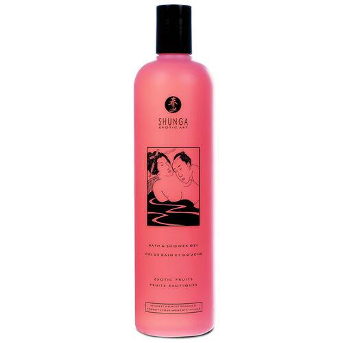 Sprchový ovocný gel Shunga Exotic Fruits (500 ml)