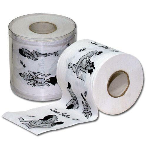 Vtipný toaletní papír Kamasutra