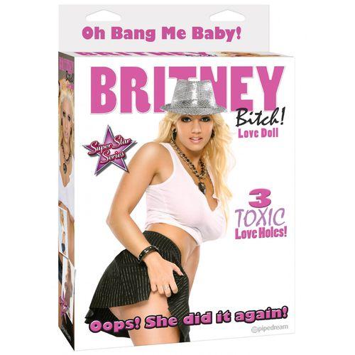 Nafukovací panna čubka Britney
