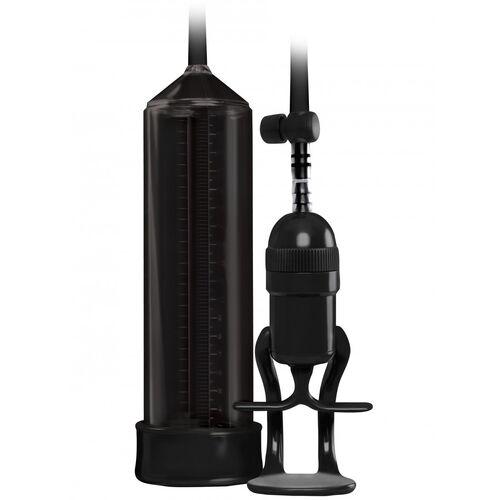 Černá vakuová pumpa na penis Renegade Bolero Pump