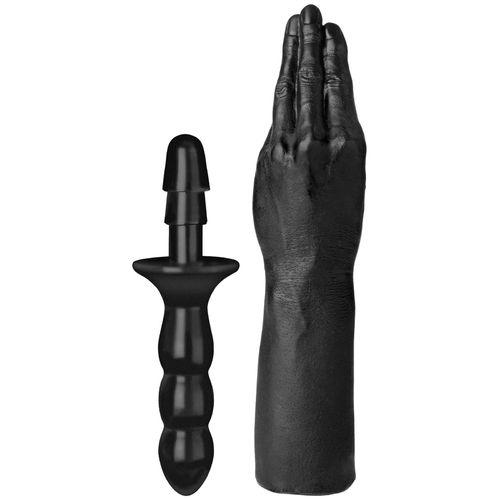 Ruka na fisting s odnímatelnou rukojetí THE HAND
