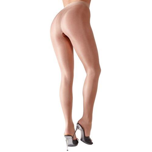 Tělové punčochové kalhoty s otevřeným rozkrokem Cottelli Collection