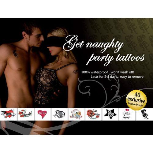 Sada tetování s erotickými motivy