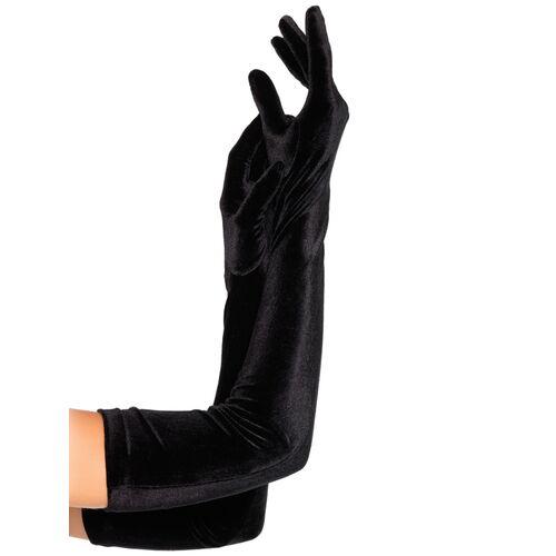 Dlouhé sametové rukavice Leg Avenue