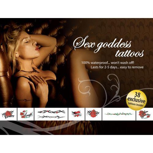 Sada tetování Sex Goddes