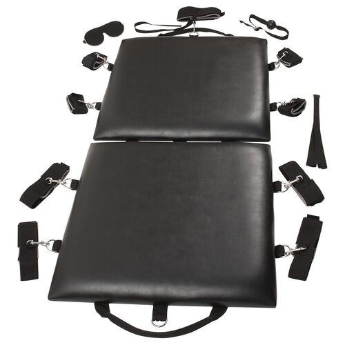 Polstrovaná BDSM podložka s pouty Bondage Board