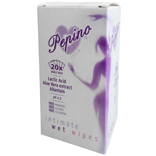 Vlhčené ubrousky na intimní hygienu Pepino (20 ks)