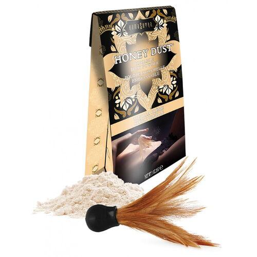 Slíbatelný tělový pudr KamaSutra Honey Dust Vanilla Creme (28 g)