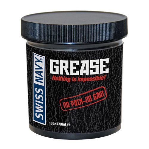 Anální olejový lubrikační gel Grease Swiss Navy (473 ml)