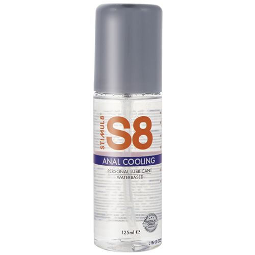 Chladivý anální lubrikant S8 Anal Cooling (125 ml)