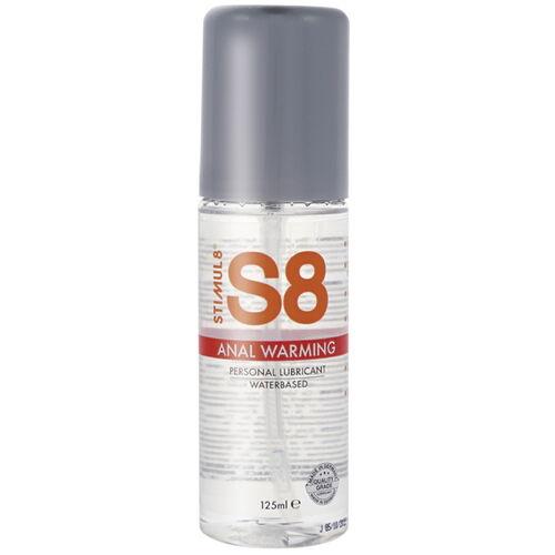 Hřejivý anální lubrikant S8 Anal Warming, 125 ml