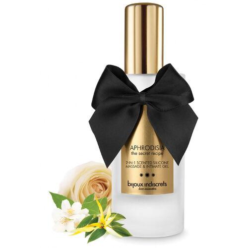 Masážní a intimní gel Aphrodisia 2v1 Bijoux Indiscrets (100 ml)
