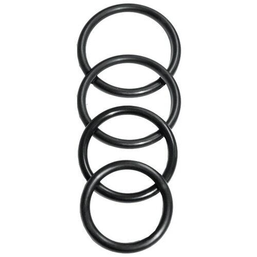 Sada kroužků k postrojům na strapony O-Ring - Sportsheets