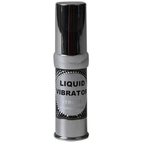 Stimulační gel s vibračním efektem Liquid Vibrator Strong, 15 ml
