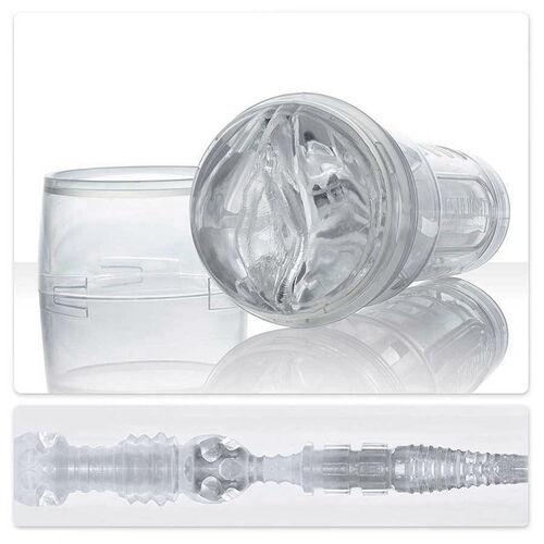 Průhledná umělá vagína Fleshlight Ice Crystal