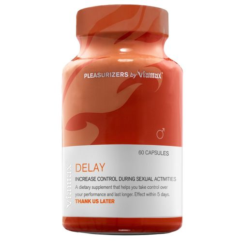 Tablety na oddálení ejakulace Viamax Delay, 60 kapslí