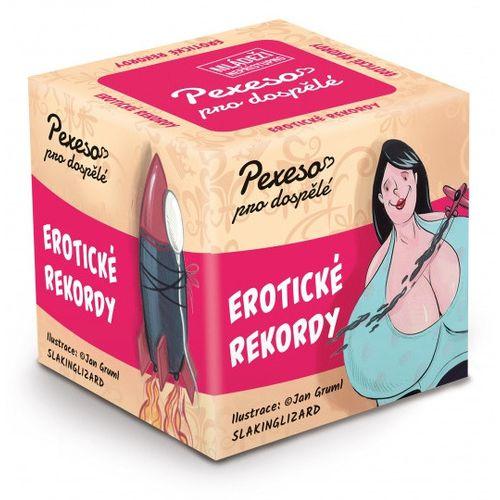 Pexeso pro dospělé - Erotické rekordy