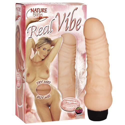 Realistický vibrátor Nature Skin Real VIbe