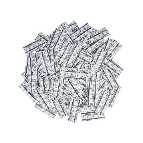 Balíček kvalitních kondomů Durex LONDON (45+5 ks zdarma)