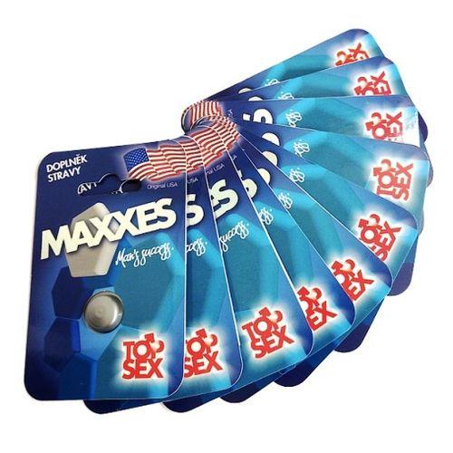 Maxxes pro muže - přírodní podpora erekce