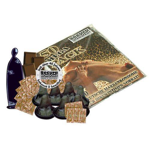 Černý kondom s aroma čokolády
