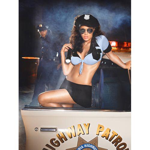 Erotický kostým Sexy policistka